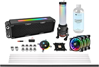 Thermaltake Pacific M360 Plus D5 - Watercooling Kit/Sistema de refrigeración líquida, Color Negro