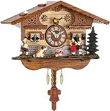 Kuckulino Reloj en miniatura de la selva negra Cucú, incluye batería