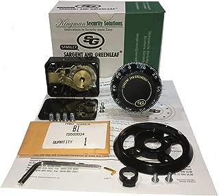 sargent and greenleaf 6730 combination lock kit