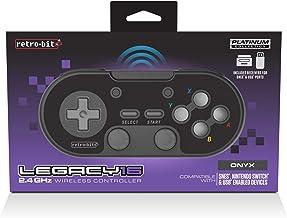 Retro-Bit Legacy16 2.4 GHz Wireless Controller - Onyx Black(Nintendo Switch//)