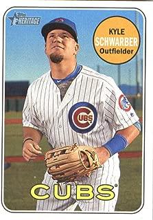 2018 Topps Heritage #268 Kyle Schwarber Chicago Cubs Baseball Card