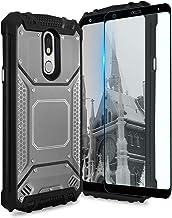 TJS Phone Case LG Stylo 4 2018/LG Stylo 4 Plus/LG Q Stylus/LG Q Stylus Plus/LG Q Stylus Alpha, with [Full Coverage Tempere...