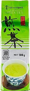 Ujinotsuyu Sencha Green Tea Leaves (Silver), 100 g