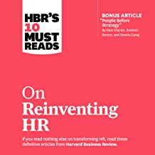 HBR's 10 Must Reads on Reinventing HR: HBR's 10 Must Reads Series