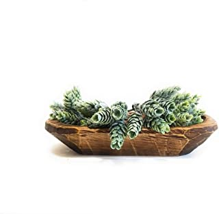 Mini Dough Bowl Small Wood Decorative Bowl - The Itty Bitty Bowl