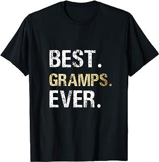 Mens Gift from Granddaughter Grandson Best Gramps Ever T-Shirt