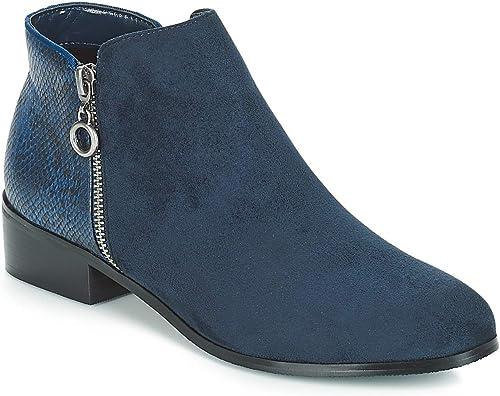 moony mood Jade Stiefelletten Stiefel Damen Blau Stiefel
