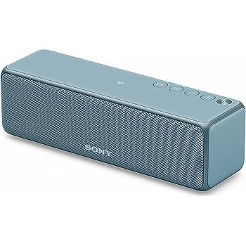 ソニー ワイヤレスポータブルスピーカー SRS-HG10 : Bluetooth/Wi-Fi/LDAC/ハイレゾ/専用スマホアプリ対応 2018年モデル / マイク付き/  ムーンリットブルー SRS-HG10 L
