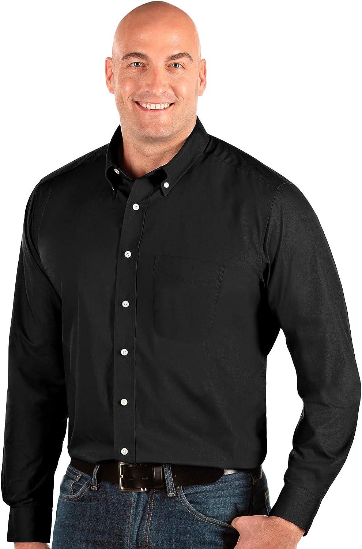Antigua Men's Dynasty Button Down Woven Shirt - Tall