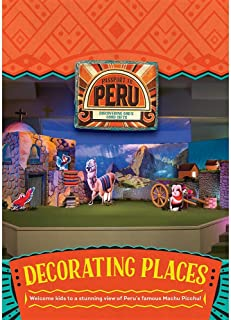Decorating Places: Passport to Peru DVD (Group Cross Culture Vbs 2017)