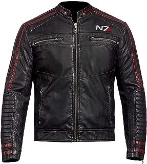 commander shepard leather jacket