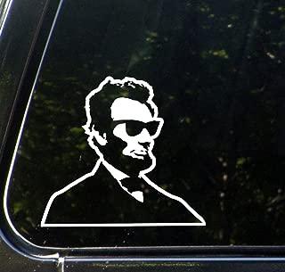 Cool Abe - Car Vinyl Decal Sticker - Copyright 2012 Yadda-Yadda Design Co. (6