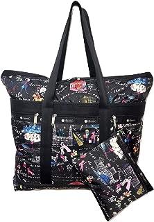 Wonderland Travel Tote + Matching Cosmetic Bag