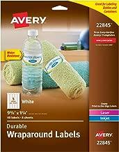 Best business water bottle labels Reviews