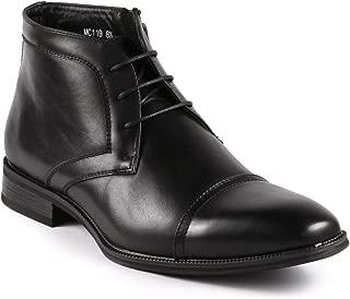 Metrocharm MC119 Men's Cap Toe Lace up Dress Chukka Ankle Boot
