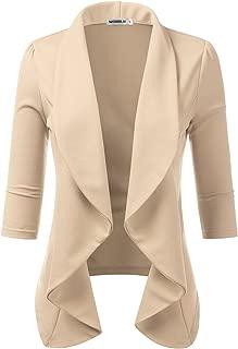 ladies beige blazer
