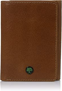 Trfiold Wallet for Men Slim Anti - Theft RFID in Full Grain Leather with ID Window from AULIV
