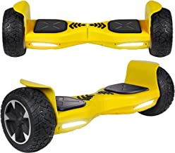 UNI-SUN Off Road Hoverboard, Bluetooth Hoverboard for Kids, All Terrain Hoverboard, 8.5 Inch Two-Wheel Self Balancing Hoverboard for Adult,UL2272 Certified Hover