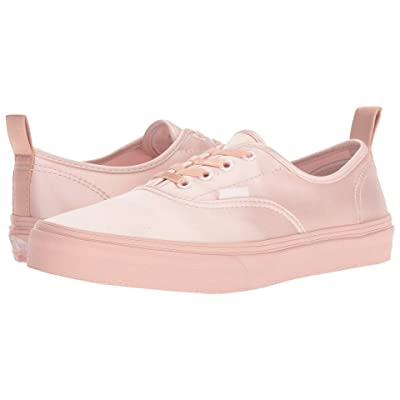 Vans Kids Authentic Elastic Lace (Little Kid/Big Kid) ((Satin Lace) Heavenly Pink/Rose Cloud) Girls Shoes
