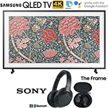 $1396 » Samsung QN49LS03RA The Frame 3.0 49-inch LS03R QLED Smart 4K UHD TV (2019) Bundle with Sony WH1000XM3/B Premium Noise Cancelling Wireless Headphones with Mic, Black