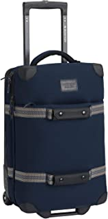 Burton Wheelie Flight Deck Luggage One Size Dress Blue Waxed
