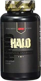 Redcon1 Halo 60 Capsules, Build Muscle Fast, Laxogenin, Lean Gains, Increase Strength