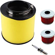 17254-HN1-000 Air Filter for Honda Foreman Rubicon 500,TRX400EX,TRX500FM 4x4,TRX500FA Rubicon,TRX500FE Foreman 4x4 ES Rubicon with TRX400X Oil Filter