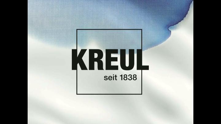 Kreul 91993 2 x 50 ml Farbe in bordeaux und grau 20 ml Farbblockierer Farbrolle ca Kreativ Set f/ür helle Stoffe Javana Farbblockieren auf Stoff 5 cm und Ideenbrosch/üre