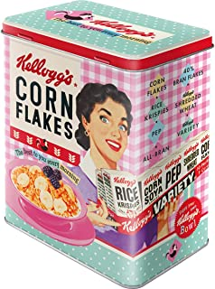 Nostalgic-Art 30147 Kellogg's-Happy Hostess Corn Flakes |