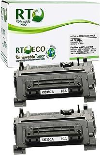 Renewable Toner Compatible Cartridge Replacement for HP 90A CE390A Enterprise 600 M4555 M601 M602 M603 (2-Pack)