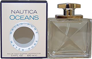 Nautica Oceans Eau de Toilette Spray for Men, 100 ml