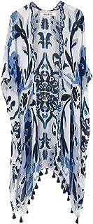 Women's Beach Cover up Swimsuit Kimono Cardigan with...