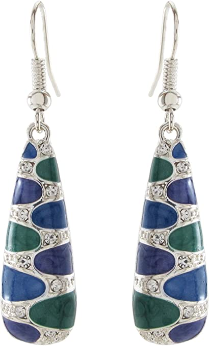 DaisyJewel Exquisite Art Deco Dangle Earrings