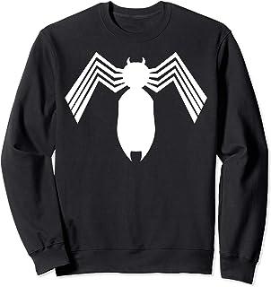 Marvel Spider-Man Arachnid All White Logo Sweatshirt