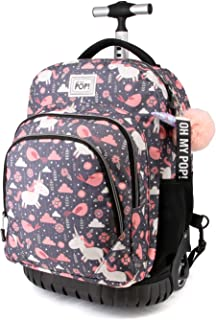Fantasy-GTS Travel Trolley-Rucksack Mochila Tipo Casual, 47 Centimeters 39.5, Multicolor
