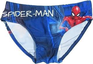 7f3760940858 Marvel Costume da Bagno Bambino Spiderman Mare e Piscina, Slip in  Microfibra con Stampa -