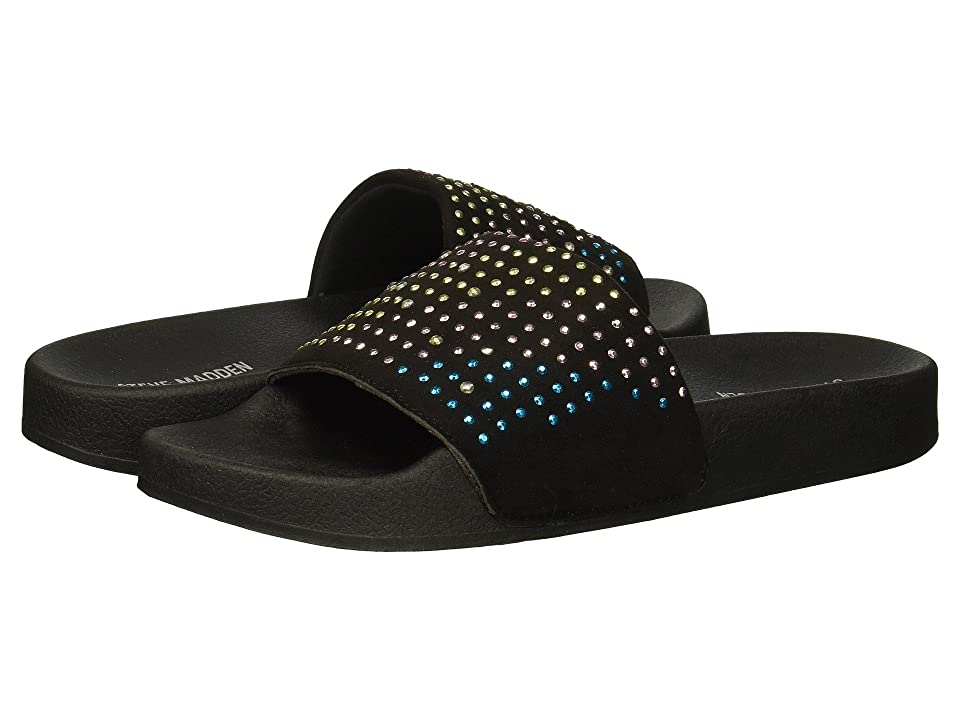 Steve Madden Kids Jbrites (Little Kid/Big Kid) (Black Multi) Girls Shoes