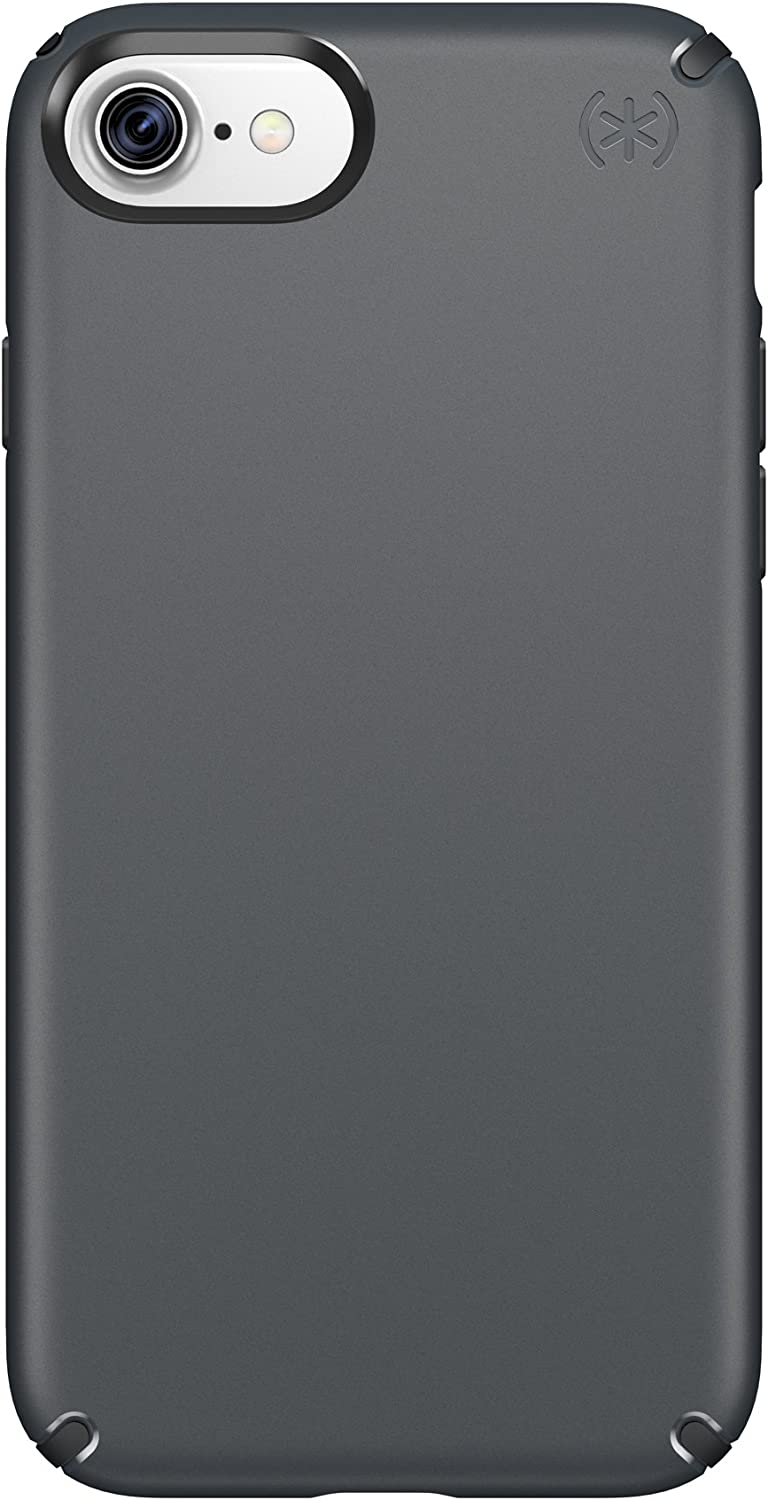 Speck Products 79986-5731 Presidio Cell Phone Case for iPhone 7, Graphite Grey/Charcoal Grey