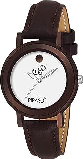Piraso Analog Brownish Watch for- Women