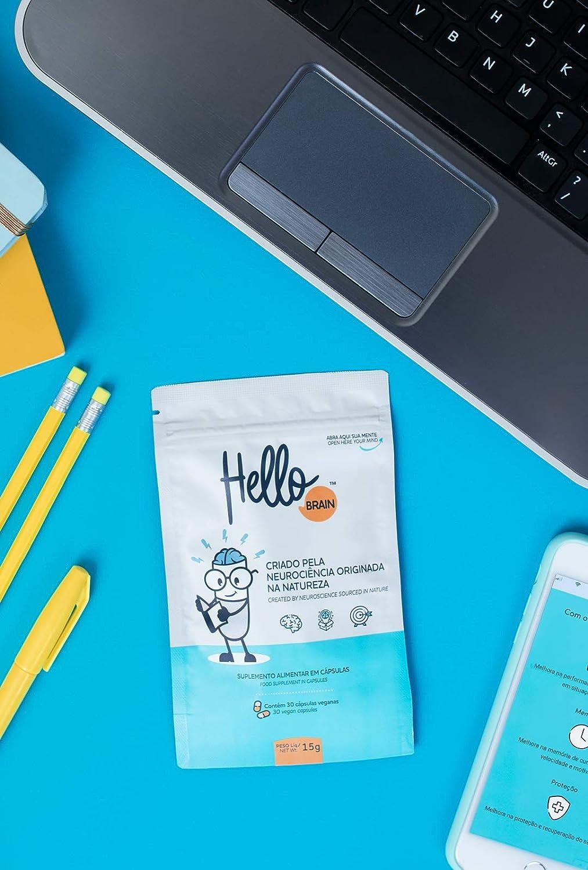 HelloBrain Unid 15g – Suplemento Inovador de Saúde Cerebral, Hello Nutrition