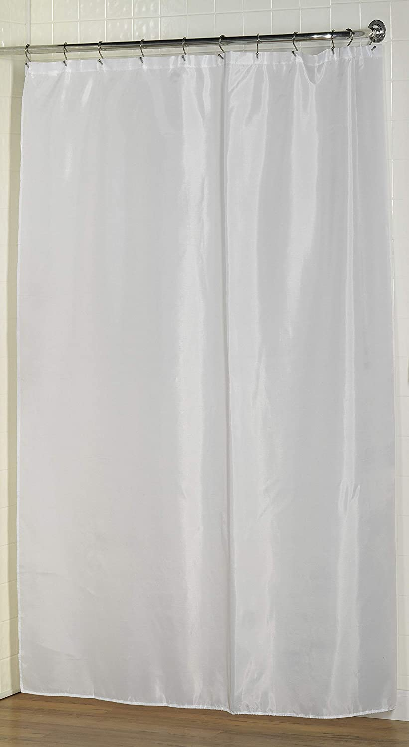 BetterBath Extra Long Water Repellant Shower Curtain Indefinitely Line Cash special price Fabric