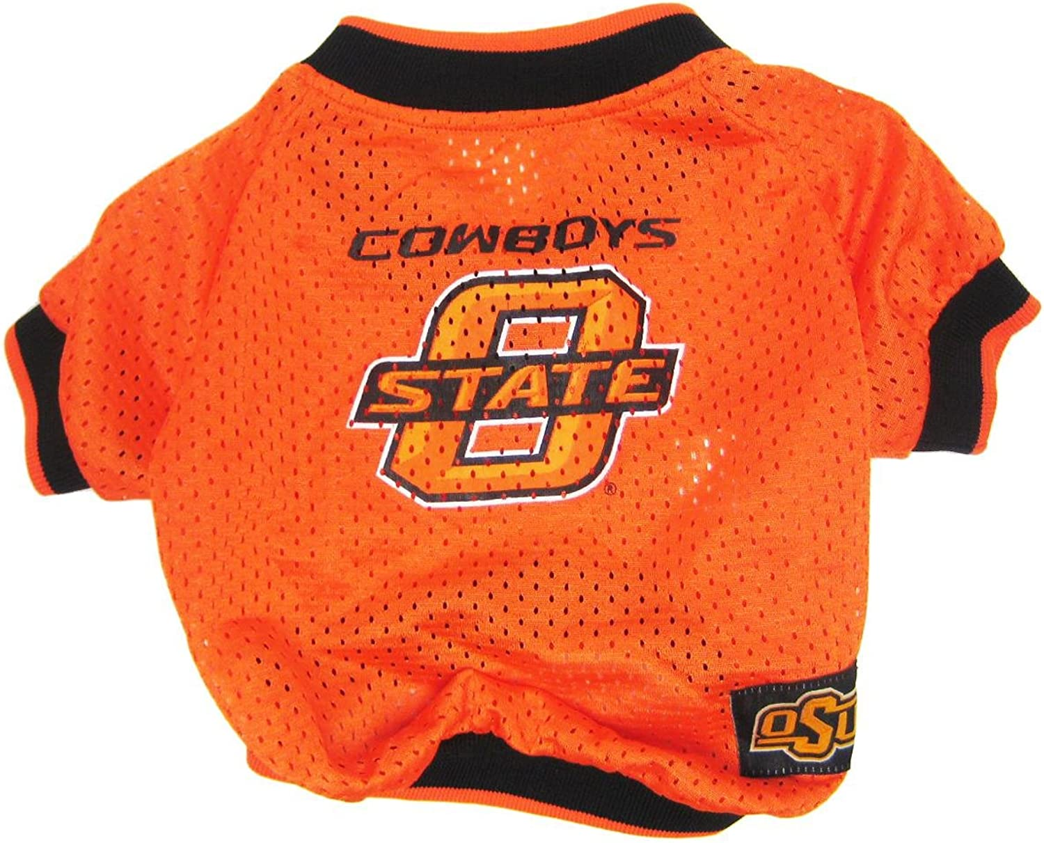 Dog   Cat   Pet Charms Oklahoma State Cowboys Jersey XS