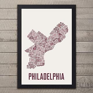 Philadelphia Neighborhood Map Print
