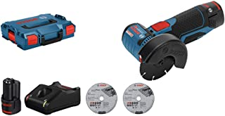 Bosch GWS 12V-76 Professional angle grinder 19500 RPM 7.6 cm 700 g GWS 12V-76 Professional, 19500 RPM, Black,Blue,Red, 75 ...