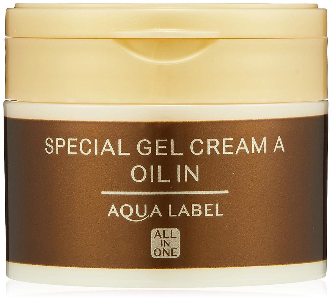 正しくスーツ慣性AQUALABEL(アクアレーベル) アクアレーベル スペシャルジェルクリームA (オイルイン) ハーバルローズの優しい香り 単品 90g