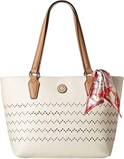 Tote w/ Scarf