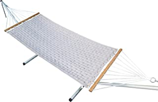Hangit 11'FT Soft Comb Quilted Hammock Hanging Swing for Home