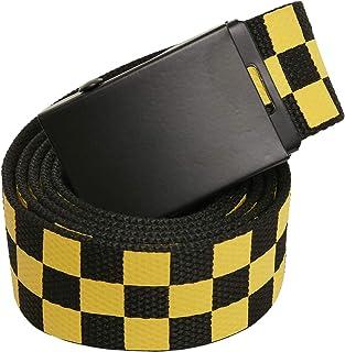 Urban Classics unisex Adjustable Checker Belt Bälte