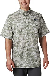 Men's PFG Super Low Drag Short Sleeve Shirt, Moisture...