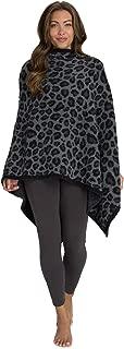 Barefoot Dreams CozyChic Leopard Poncho, OneSize